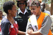 Kenijoje už žmogžudystę mirti nuteista grožio karalienė