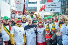 D. Grybauskaitė Briuselyje kovos už Lietuvos ūkininkus