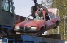 Automobilių dalys sudaro 55 proc. visų atliekų Lietuvoje