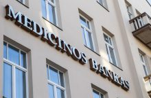 """""""Medicinos bankas"""" įsigijo 30 mln. eurų """"Snoro"""" paskolų portfelį"""