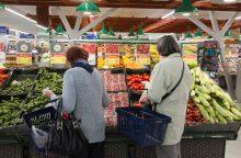 Skirtingose parduotuvėse net pigiausių produktų kainos skiriasi drastiškai