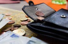 Vagys tykojo moterų pinigų