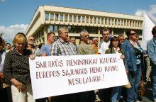 Lietuvos pienininkai prisijungs prie protesto Briuselyje