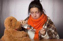 Sergančiųjų gripu šiemet mažiau nei pernai