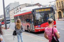 Kauno autobusų vairuotojams trūksta poilsio?