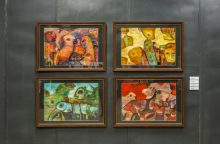 """Iš esmės: tarptautinė akvarelės bienalė """"Baltijos tiltai"""""""