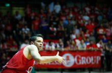 M. Kalniečio ekipa pusfinalio serijoje pirmą kartą išsiveržė į priekį