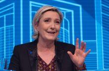 M. Le Pen neatvyko į apklausą dėl įtarimų pinigų švaistymu