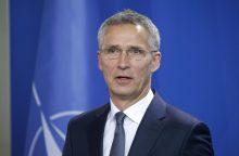 J. Stoltenbergas: Rusija bando suskaldyti NATO sąjungininkes
