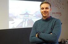 """Kauno startuoliai: norime užaugti dideli, kad paremtume """"Žalgirį"""""""