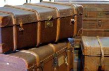 Lagamine pasislėpęs vagis apšvarino kitų autobuso keleivių bagažą
