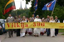 Vilkija šventė 590 metų jubiliejų