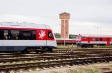 Metų pradžioje – įspūdingas geležinkelio krovinių šuolis