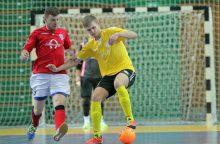 """""""Vytis"""" pergalingai užbaigė pirmąjį """"Futsal A lygos"""" ratą"""