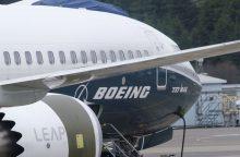 """""""Boeing"""" supažindins oro linijų atstovus su """"737 MAX"""" lėktuvų įrangos atnaujinimais"""