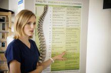 Ką daryti užklupus nugaros skausmui?