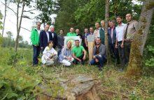Šalia Sergeičikų žaliuos Rotary parkas