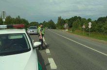Policijos reidai: rajono keliuose apgirtę vairuotojai