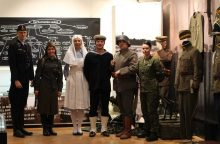 """Vytauto Didžiojo karo muziejuje atidaryta paroda """"Amžių kovoję – laisvę laimėjom"""""""