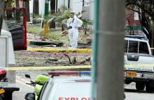 Per sprogdinimą Bogotos policijos akademijoje žuvo aštuoni žmonės