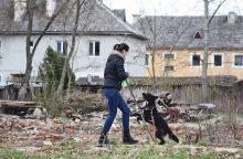 Šuns dienos proga – Kauno pareigūnų staigmena prieglaudos globotiniams