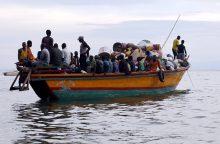 Viktorijos ežere nuskendo keleivinis keltas