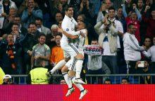 """Čempionų lygoje Madrido """"Real"""" nepagailėjo Varšuvos klubo"""
