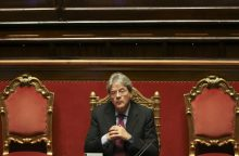 S. Gentiloni paskirtas Italijos ministru pirmininku