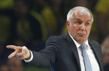 Iš Ž. Obradovičiaus lūpų –kritika FIBA ir rinktinėje žaisti atsisakiusiam N.Jokičiui