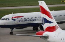 """Iš Maskvos į Londoną skridęs """"British Airways"""" laineris turėjo nusileisti Berlyne"""