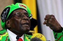 PSO atšaukė sprendimą R. Mugabę pavadinti geros valios ambasadoriumi