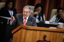 R. Castro: vadovausiu Kubos Komunistų partijai iki 2021-ųjų