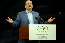 Netikėtai mirė FIBA generalinis sekretorius P. Baumannas