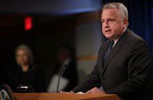 """JAV pavadino Kiniją ir Rusiją """"nestabilumo jėgomis"""""""
