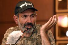 Armėnijos opozicijos lyderis N. Pašinianas: esu pasirengęs vadovauti šaliai