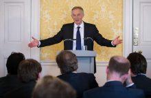 Buvęs premjeras: Didžioji Britanija gali surengti antrą referendumą dėl ES