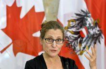"""Kanados ministrė: ES """"nepajėgi"""" sudaryti tarptautinį susitarimą"""