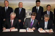 Sutartis dėl milžiniško Jungtinės Karalystės atominės elektrinės projekto pasirašyta