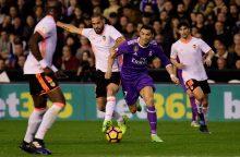 """Jubiliejinėse C. Ronaldo rungtynėse –  """"Valencia"""" antausis"""