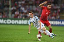 Europos jaunimo čempionate – anglų žingsnis į pusfinalį