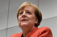 A. Merkel: esu pasiruošusi vesti savo partiją į naujus rinkimus