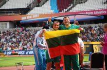Auksą iškovojęs M. Bilius: pergalę skiriu visiems neįgaliems sportininkams