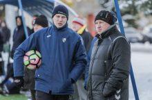 """""""Kauno Žalgirio"""" futbolininkų treneris: namuose sieksime pergalės"""