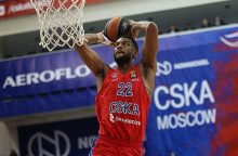 "CSKA komanda lyg volu pervažiavo ""Anadolu Efes"""