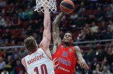CSKA krepšininkai įveikė Miuncheno klubą