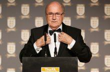 Buvęs FIFA vadovas vyks stebėti pasaulio čempionato V. Putino kvietimu