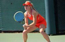 Tenisininkei J. Eidukonytei Švedijoje nepavyko triumfuoti dvejetų varžybose