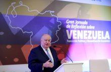 J. Guaido atstovas: Rusija nori įkurti Venesueloje savo karinių bazių