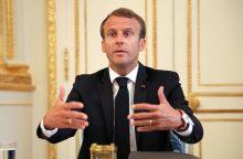 Prancūzijos prezidentas paskelbs kovos su antisemitizmu priemones
