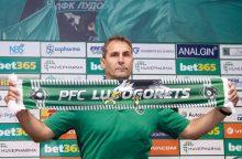 """""""Ludogorec"""" vadovaus buvęs S. Kerlos treneris"""